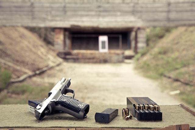 Ruger 9mm Pistolenstand