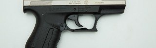 Walther P99 Nickel 9mm PA Knall Gas und Signalpistole